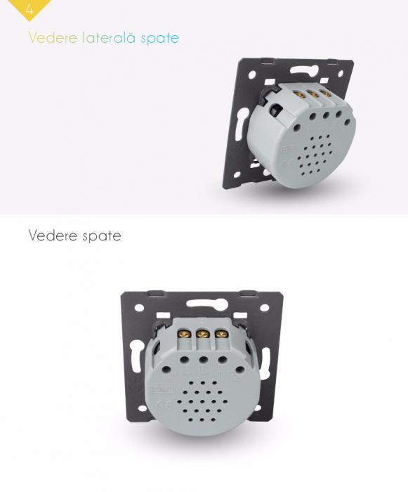 Modul intrerupator dublu, wireless VL-C702R [2]