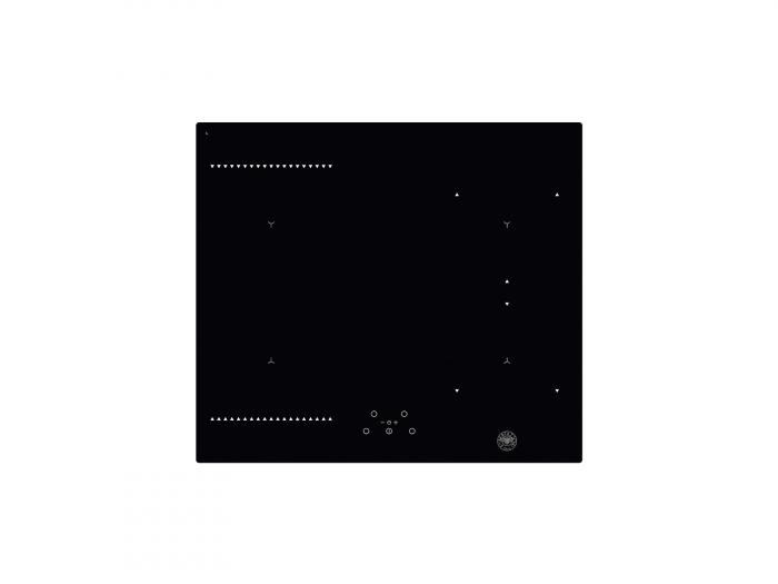 Plita pe inductie Bertazzoni 60 cm din sticla neagra 0