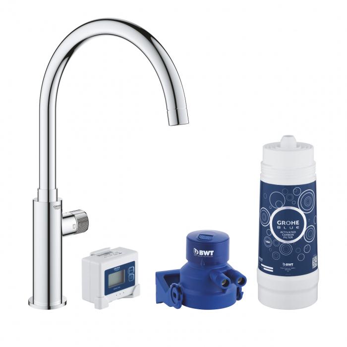 Robinet bucatarie GROHE Pure Mono pentru apa filtrată - crom 0