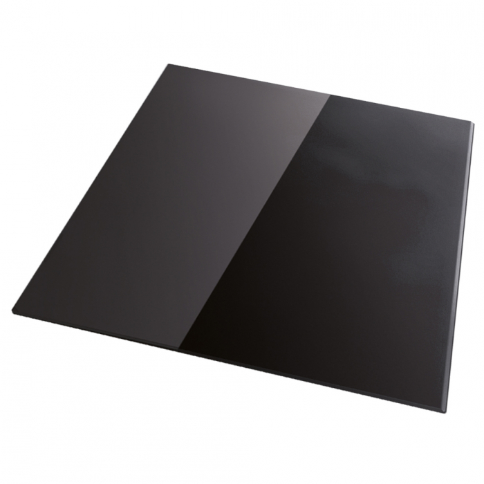 Chiuveta bucatarie granit dubla cu 2 cuve CookingAid Kinga LX8620 Neagra / Black Metal quartz + Ventil Invizibil + Baterie CookingAid Arizona + 2 Tocatoare sticla Temperizata 4