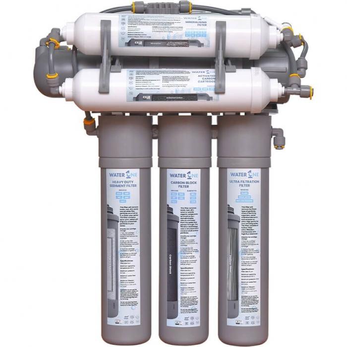 Sistem de filtrare al apei Water1One RO+ Plus, filtrul pentru remineralizare si Osmoză Inversă 0