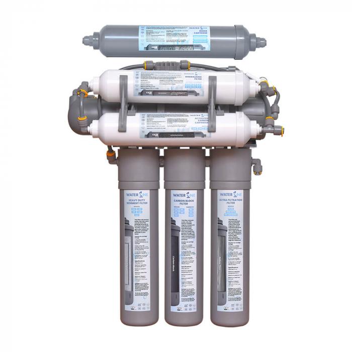 Sistem de filtrare al apei cu smoză Inversă si filtrul RedOX Water1One RO Premium [0]