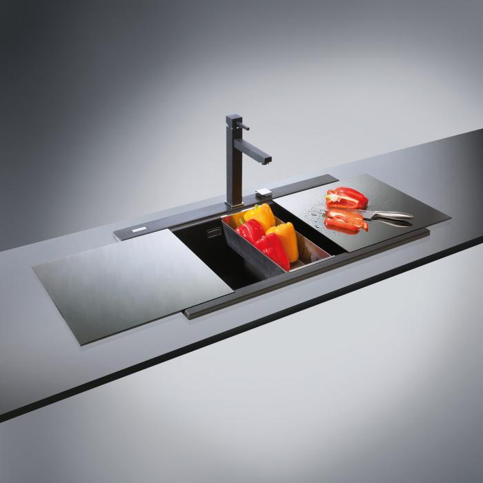 Scurgator INOX Tip Tavita Perforata pentru chiuveta CookingAid Kinga LX8620 [0]