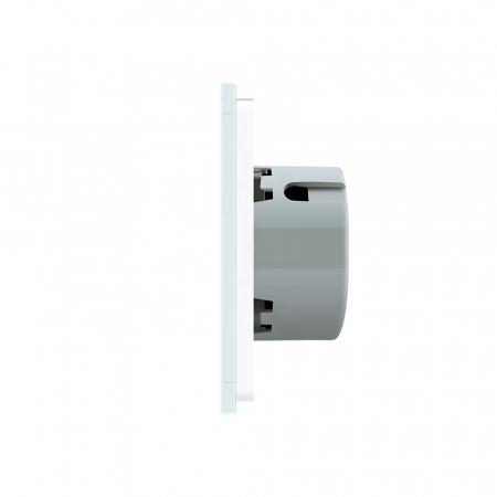 Întrerupător dublu Livolo, wireless, Alb3