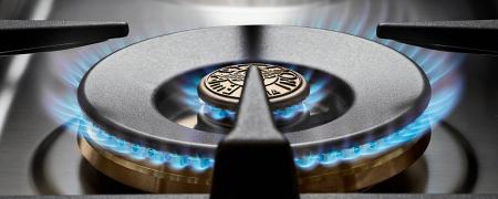 Aragaz Bertazzoni 120 cm 6 arzatoare gaz, cuptor electric dublu Seria Heritage [1]