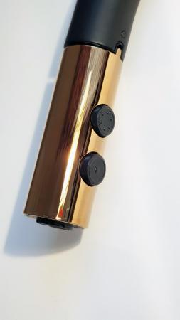 Baterie CookingAid STANDARD BLACK/COPPER negru mat/cupru cu furtun dus retractabil / extractibil + buton interschimbabil jet/dus si finisaj antiamprenta [2]