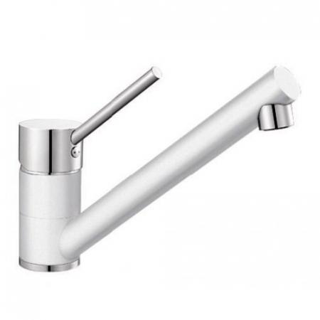 Baterie chiuveta Blanco ANTAS silgranit culoare alb/crom [0]