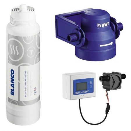 Baterie chiuveta BLANCO FONTAS-S II FILTER,cu filtru si circuit apa filtrata [3]