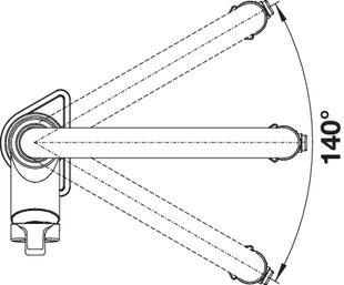 Baterie cu senzor pentru chiuveta BLANCO Solenta-s Senso [6]