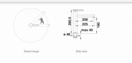 Baterie inox bucatarie Blanco LINEE [2]