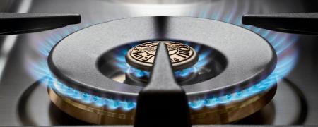Bertazzoni Aragaz 90x60 cm,6 arzatoare, cuptor electric Inox, serie Professional [2]