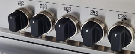 Bertazzoni Aragaz 90x60 cm Premium 5 arzatoare, cuptor electric, Inox design Master [2]
