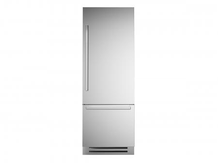 Bertazzoni Combina frigorifica incorporabila 75 cm Inox design Neutral, deschidere dreapta [0]