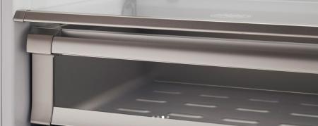 Bertazzoni Combina frigorifica incorporabila 90 cm Inox design Neutral, deschidere dreapta [3]