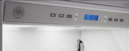 Bertazzoni Combina frigorifica incorporabila 90 cm Inox design Neutral, deschidere dreapta [2]