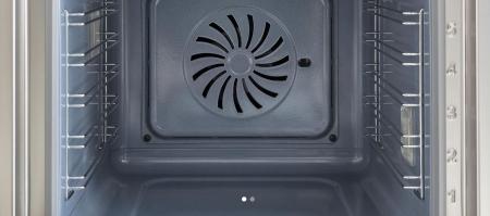 Bertazzoni Cuptor electric 60x60 cm Multi 5 functii 3 butoane Inox design Modern [4]