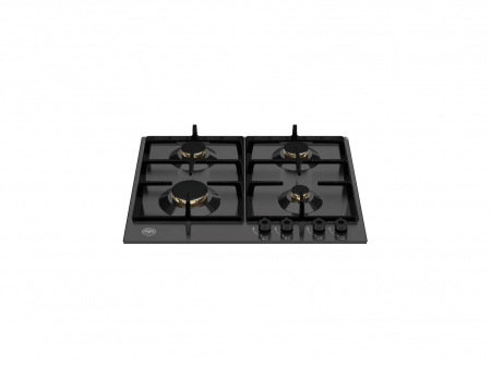 Bertazzoni Plita cu 4 arzatoare gaz, 60 cm Negru Mat design Professional [0]