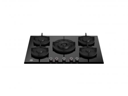 Bertazzoni Plita gaz 75 cm Sticla neagra design Professional [0]