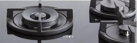 Bertazzoni Plita gaz 75 cm Sticla neagra design Professional [4]