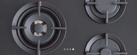 Bertazzoni Plita gaz 75 cm Sticla neagra design Professional [5]