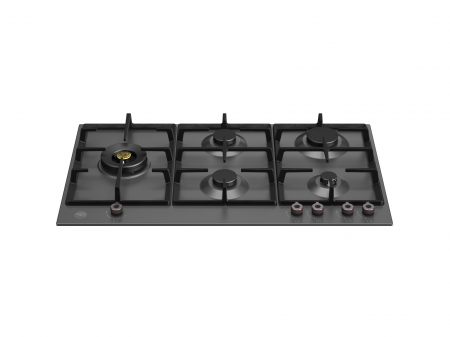 Bertazzoni Plita gaz 90 cm Negru Mat design Professional P905LPRONE [0]