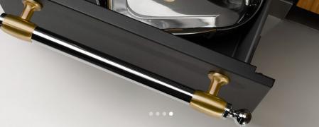 Bertazzoni Aragaz 90x60 cm Premium 5 arzatoare, cuptor electric design Heritage [2]