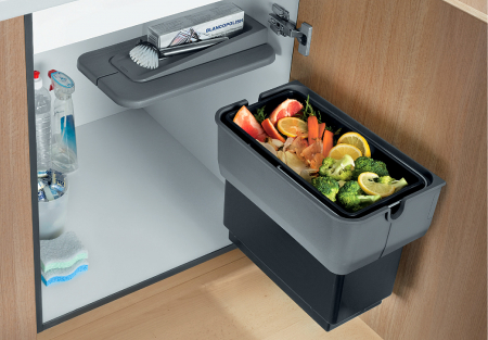 Blanco Singolo selector de resturi menajere din plastic1
