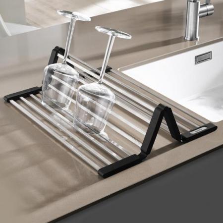 Blanco suport de vase pliabil inox pt chiuvetele ADON 460X440 mm [7]