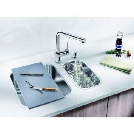 Blanco tocator din sticla securizata 240x435 mm pt Andano si Subline [3]