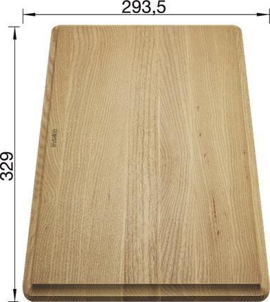 BLANCO Tocator lemn frasin pentru chiuvetele FARON XL 6 [1]