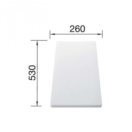 Blanco tocator plastic pentru chiuvetele cu cuva adanca de 500 mm [3]