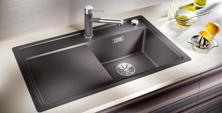BLANCO ZENAR XL 6 S SILGRANIT PuraDur, InFino cu excentric [2]