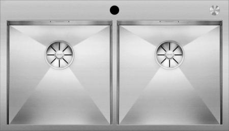 Blanco ZEROX chiuveta de bucatarie inox 400/400-IF/A cu Infino si Pushcontrol [1]