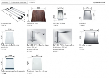 Chiuvetă Blanco Claron 8 S-IF 116x51cm, oțel inoxidabil, cuva dreapta, PushControl [7]