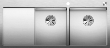 Chiuvetă Blanco Claron 8 S-IF 116x51cm, oțel inoxidabil, cuva dreapta, PushControl [0]