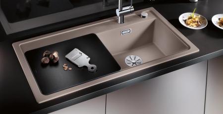 Chiuveta bucatarie BLANCO ZENAR XL 6 S-F SteamerPlus  cu 3 accesorii [6]