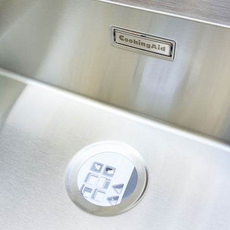 Chiuveta bucatarie inox CookingAid BOX LUX 76 cu ventil automat scurgere + accesorii montaj9