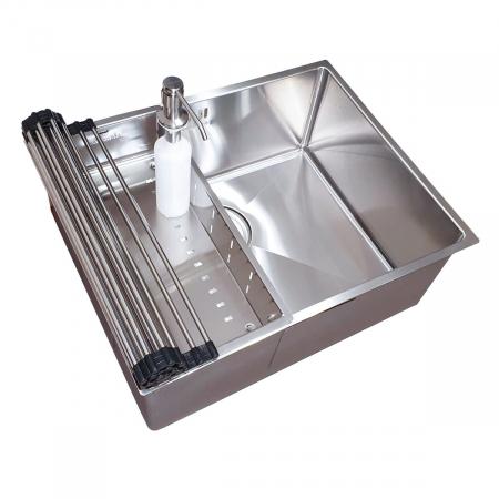 Chiuveta bucatarie inox CookingAid HERA MEDIUM si accesorii [12]