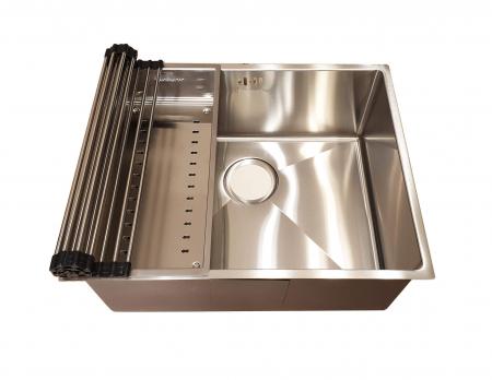 Chiuveta bucatarie inox CookingAid HERA MEDIUM si accesorii [5]
