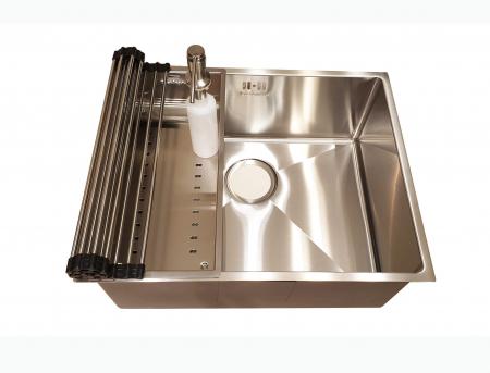Chiuveta bucatarie inox CookingAid HERA MEDIUM si accesorii [2]