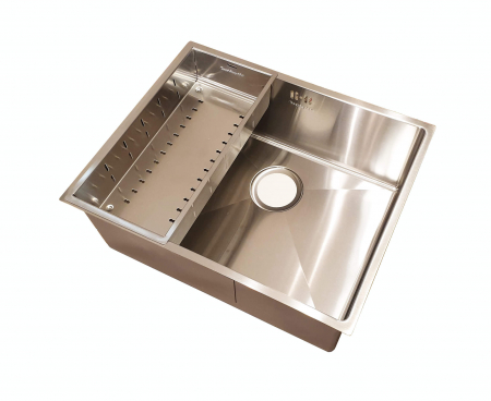 Chiuveta bucatarie inox CookingAid HERA MEDIUM si accesorii [6]