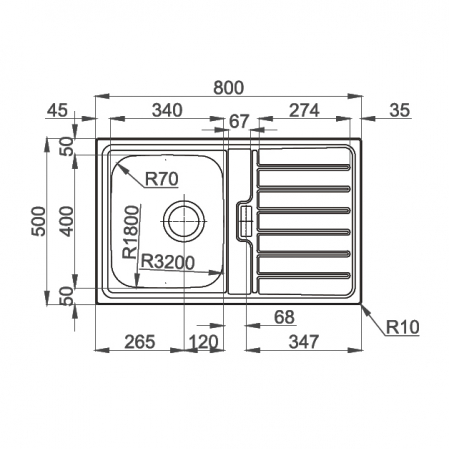 Chiuveta bucatarie inox CookingAid URBAN 80B reversibila stanga/dreapta cu picurator + accesorii montaj7