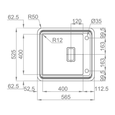 Chiuveta bucatarie inox CookingAid VISION 40 cu baterie telescopica integrata, tocator sticla temperizata + accesorii montaj ideala pentru montaj sub geam [6]