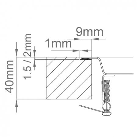 Chiuveta bucatarie inox CookingAid XERON 105 RIGHT cu ventil scurgere dreptunghiular automat si accesorii montaj [4]