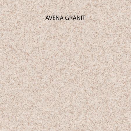 Chiuveta bucatarie rotunda granit CookingAid Naiky NK5110 Bej Pigmentat / Avena + accesorii montaj [1]