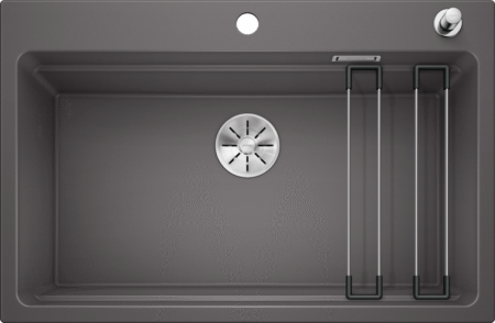 Chiuveta de bucatarie Blanco Etagon 8 silgranit cu accesorii si excentric [5]