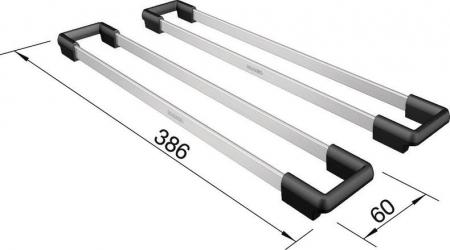 Chiuveta de bucatarie Blanco Etagon 8 silgranit cu accesorii si excentric [3]