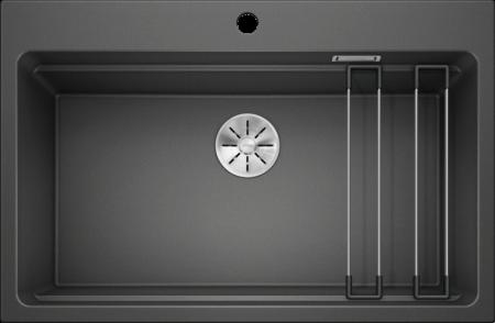 Chiuveta de bucatarie Blanco Etagon 8 silgranit cu accesorii fara excentric [0]