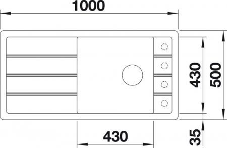 Chiuveta de bucatarie Blanco Faron XL 6 S [1]