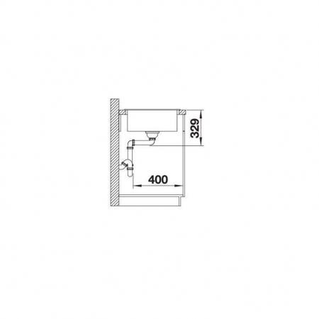 Chiuveta de bucatarie BLANCO ZIA 40S [3]